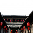 Typical Chinese architecture, courtyard - Stock Photo
