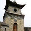 Typical Chinese architecture, Watchtower - Stock Photo