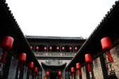 Typical Chinese architecture, courtyard — Stock Photo