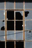 Krossat fönster — Stockfoto