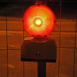 Stock Photo: Warning light