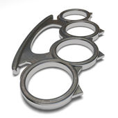Brass knuckles — Stock Photo