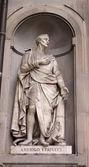 Statue of Amerigo Vespucci — Stock Photo