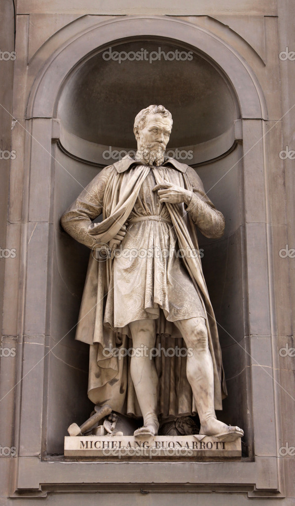 米开朗基罗是雕塑家, 画家, 建筑师, 诗人和工程师在意大利文艺复兴