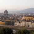 Florence at Dusk — Stock Photo