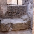 Stone Bed in Pompeii — Stock Photo