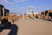 La Basílica de Pompeya — Foto de Stock