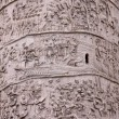 Trajan's Column Up-close - Stock Photo
