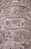 Trajan's Column Up-close — Stock Photo
