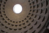 The Pantheon Dome — Stock Photo