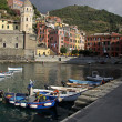Vernazza Dock — Stock Photo