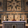 Florence Baptistery Altar — Stock Photo
