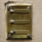 Üç kapı zilleri — Stok fotoğraf