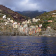 The Village of Riomaggiore — Stock Photo