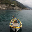 Fishing Boat in Monterosso — Stock Photo