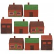 Wooden Toy Houses — Stock Photo #10268224