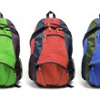 Backpacks — Foto Stock