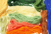 Colored Yarn — Stock Photo