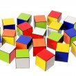 Color Cubes — Stock Photo #10522534