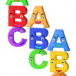 Stock Photo: Alphabets