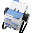 Stock Photo: Rotary Card Index