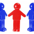 Plastic Figures — Stock Photo