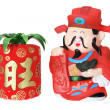 God of Prosperity Figurine — Foto de Stock