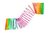 Coiled Spiral Toy — Stock Photo