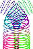 Coiled Spring Toy — Stock Photo