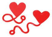 Love Heart Ornaments — Stock Photo