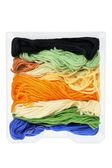 Stack of Yarn — Stock Photo