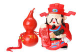 God of Prosperity Figurine — Stockfoto
