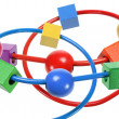 Beads Maze Toy — Stock Photo