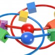 Stock Photo: Beads Maze Toy