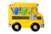 Toy School Bus — Stock Photo