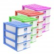 Stock Photo: Storage Drawers