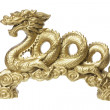 Royalty-Free Stock Photo: Golden Dragon Figurine