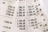 High bills — Stock Photo