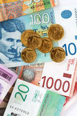 Serbian dinars — Stock Photo