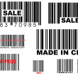 Bar codes — Stock Photo #8608903