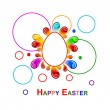 Colorful Easter background — Stock Vector #9138398