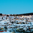 Mountain Village St. Englmar — Stock Photo