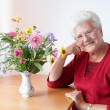 Happy old woman — Stock Photo #8600828