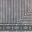 Ornate steel grate - Stock Photo