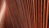 Paslı çelik kalıpları — Stok fotoğraf