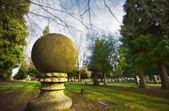 Ball Sculpture — Stock Photo