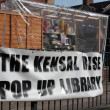 Kensal Rise Library in London - Stock Photo