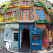 Colourful Neal&#039;s Yard near Covent Garden in London - Stock Photo