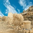 Nemrut Dagi in Turkey - Stock Photo