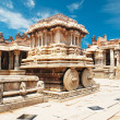 Stock Photo: Vittaltemple in Hampi, Karnatakprovince, South India, UNESCO world heri